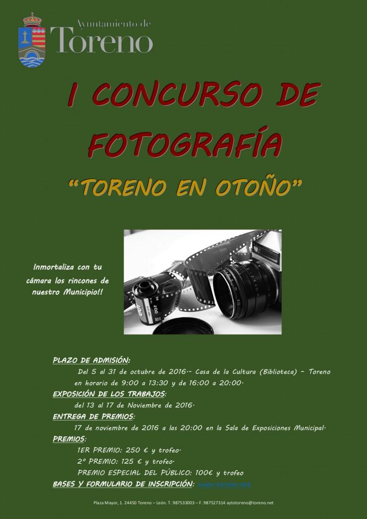 CONCURSO DE FOTOGRAFÍA cartel